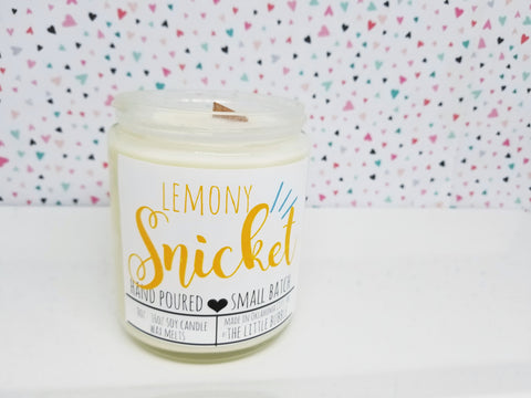 Lemony Snicket ~ Soy Candle
