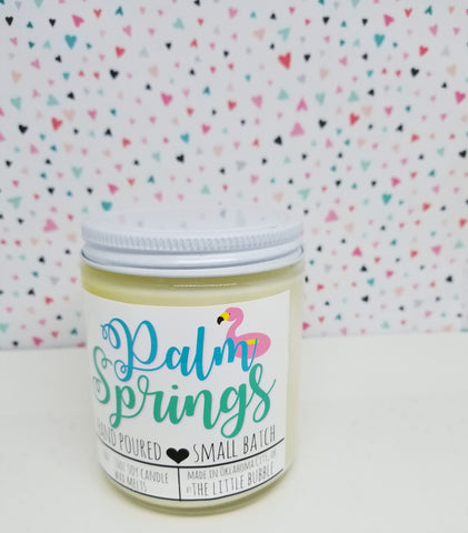 Palm Springs ~ Soy Candle