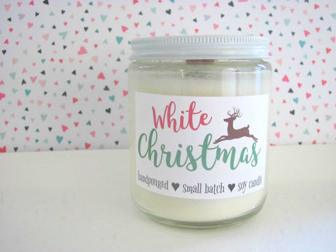White Christmas ~ Soy Candle
