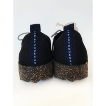 Load image into Gallery viewer, Asportuguesas Code Black Lace Trainers