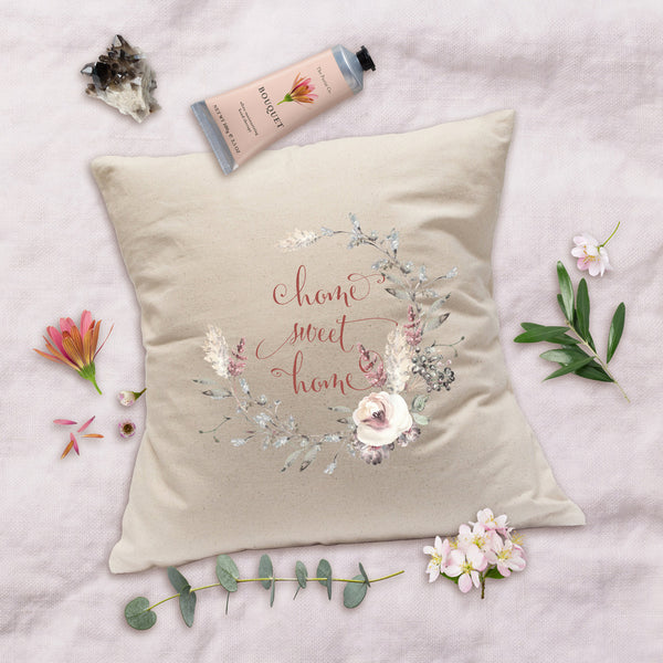 French Farmhouse Pillow - Home Sweet Home