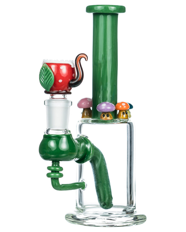 Empire Glassworks Mushroom Patch Bong