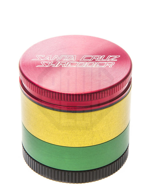 Santa Cruz Shredder - Small 4 Piece Herb Grinder