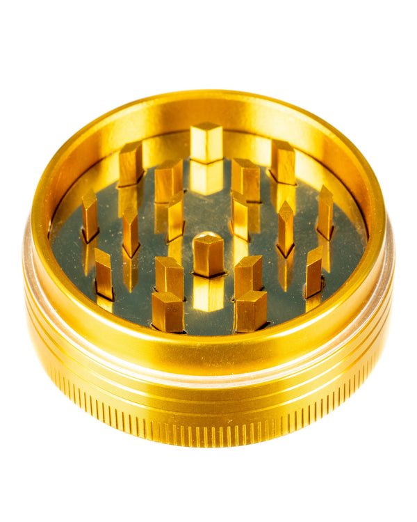Gold 2-Piece Pop Up Diamond Teeth Grinder