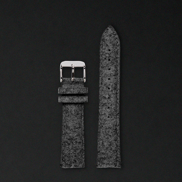 20MM ANTHRACITE WOOL Silver buckle FOR ORIGINAL 40MM WATCHES