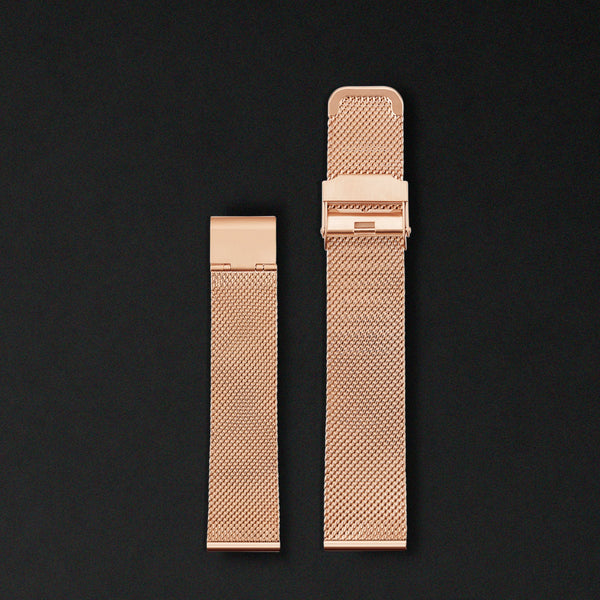 20MM MESH ROSE GOLD