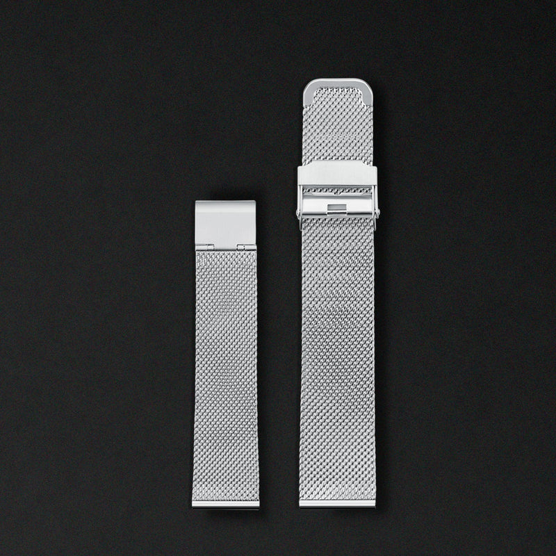 20MM MESH SILVER FOR ORIGINAL 40MM WATCHES