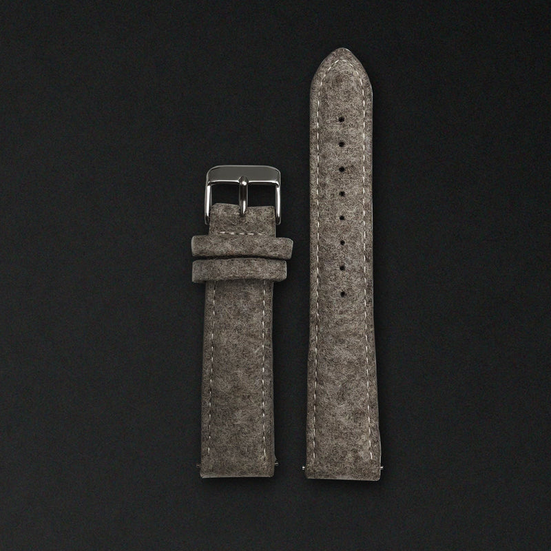 20MM DESERT SAND WOOL Silver Buckle FOR ORIGINAL 40MM WATCHES