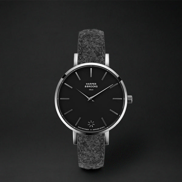SAGA 32MM WOOL ANTHRACITE Black / Silver
