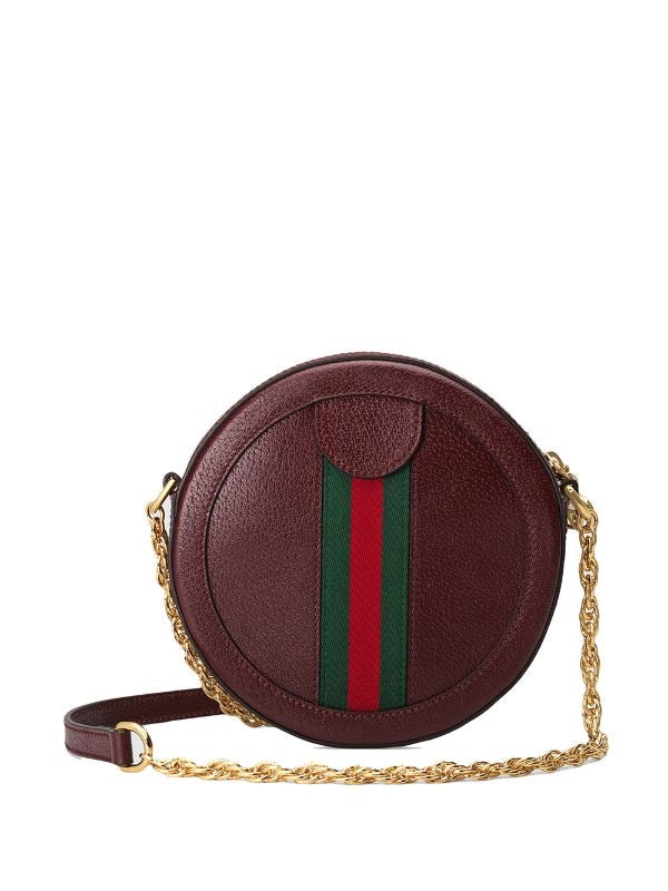 Ophidia Round Shoulder Bag