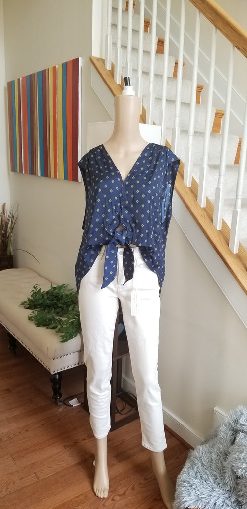 Free People Mornings In Marrakesh Printed Top Large