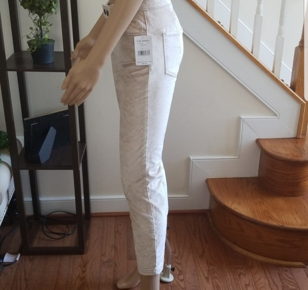 Free People Sweet Jane Velvet Jeans Size 25
