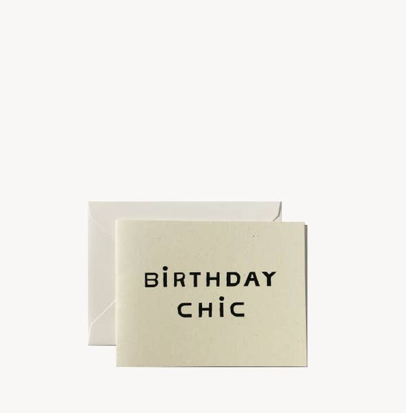 WILDE HOUSE PAPER | Birthday Chic Card