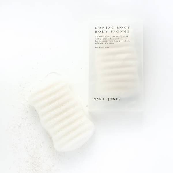 Nash | Jones Konjac Root Body Sponge