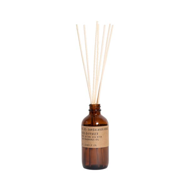 P.F. Candle Co. | Sandalwood Rose - 3.5 oz Reed Diffuser