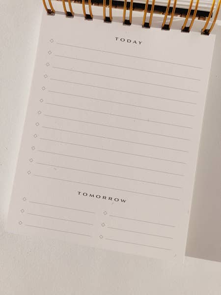Wilde House Paper | To Do Desk Pad in Nude