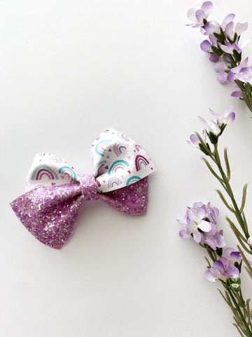 Chasing Rainbows Luxe Bow