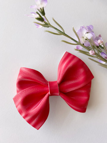 Red Luxe Bow