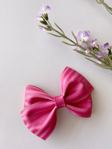 Hot Pink Luxe Bow