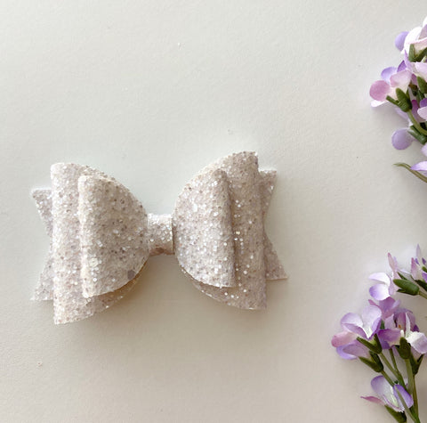 Sparkle Periwinkle Double Bow