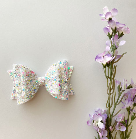 Easter Confetti Double Bow
