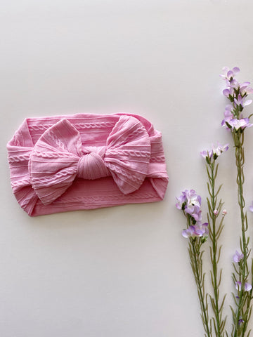 Pink Soft Headwrap