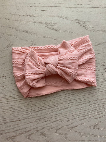 Lt. Pink Soft Headwrap