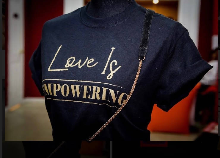 'Love is Empowering' Ladies Tee