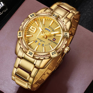 Stylish Full Gold Watch
