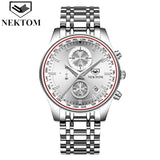 Luxury Men's Stainless Steel Watch