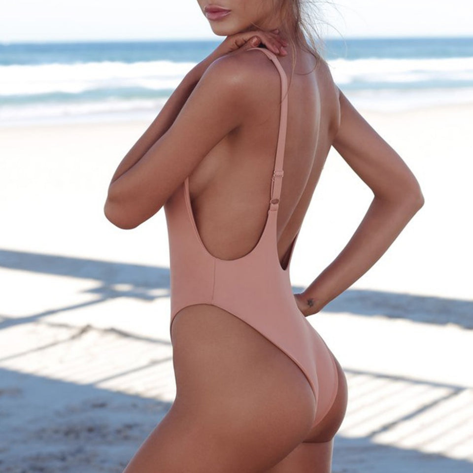 Thong One-piece Swimsuit