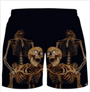 Horny Skeleton Shorts