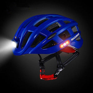 Smart Helmet With USB Rechargeable Light