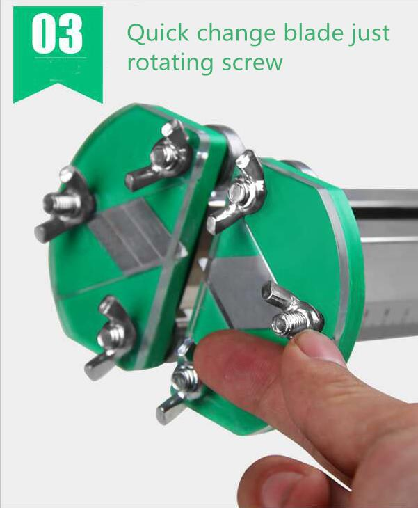 New Stainless Steel Gypsum Board Cutting Roller For Drywall