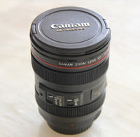 New Coffee Camera Lens Mug With Lid
