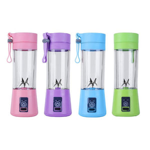 Portable Mini Juicer 380ML 6 Blades