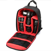 Multi-Function DSLR Camera Backpack w/ Rain Cover