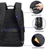 High Tech Backpack Anti-theft Waterproof