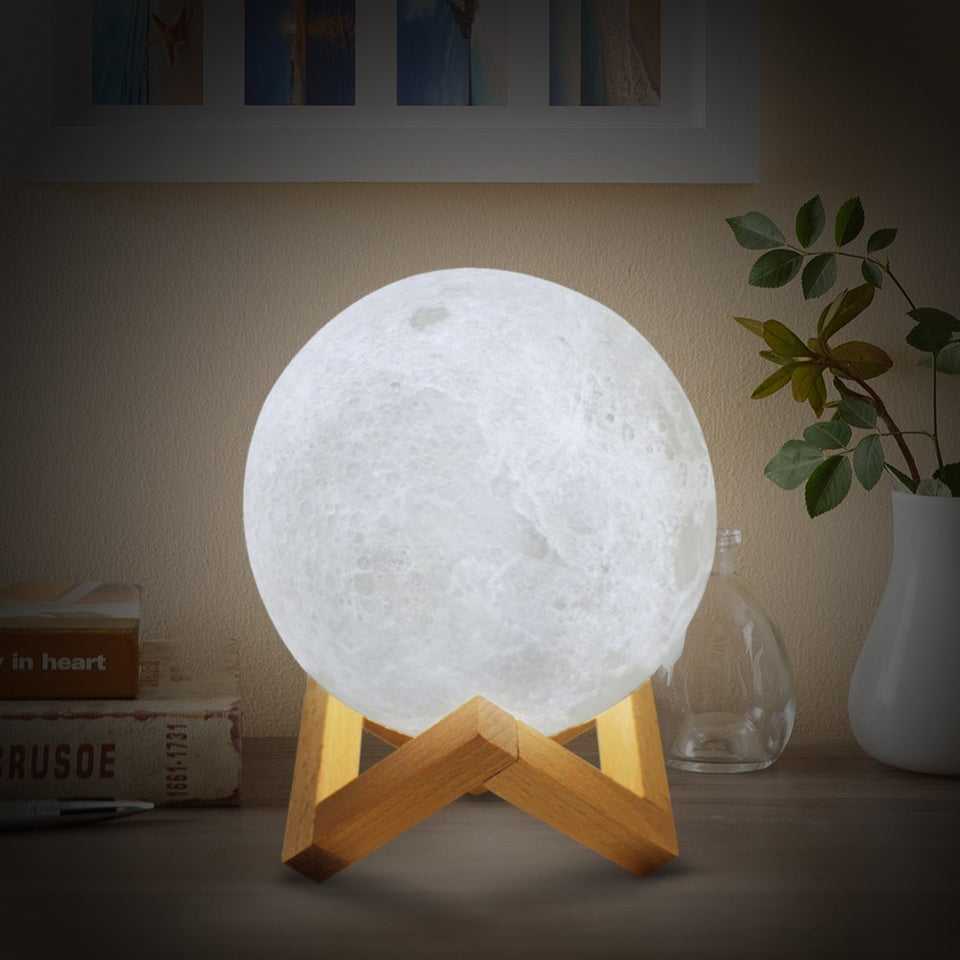 3D Moon Lamp LED Night Light