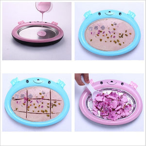 New Mini Ice Cream Maker Plate