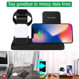 Wireless Charger 3 in 1 Charging Dock Station