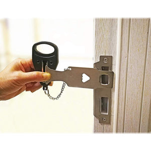 Portable Travel Safety Door Lock