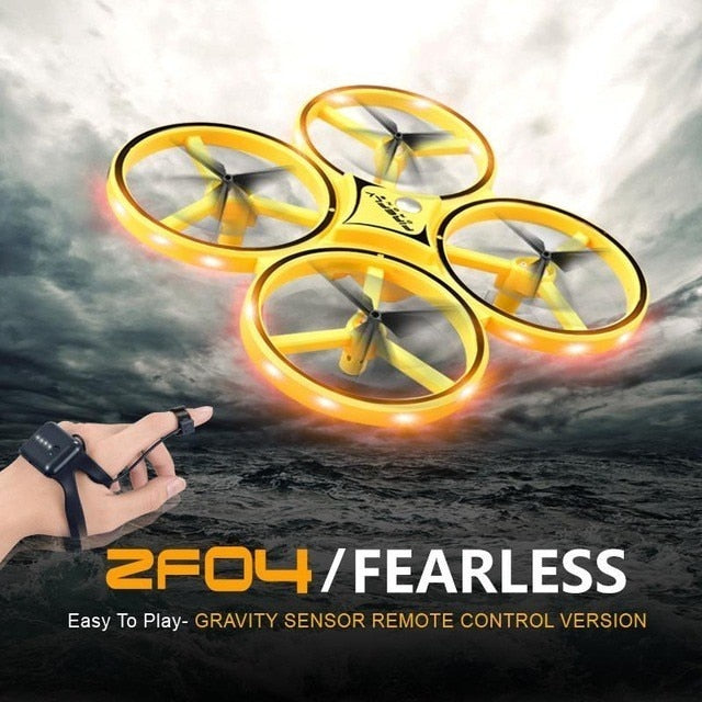 RC Quadcopter with Intelligent Watch Remote Control