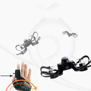 2.4G Glove Gesture Control Drone with Foldable Arms