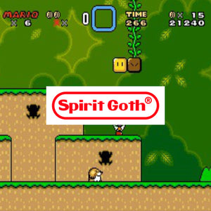 Spirit Goth Nintendo Sticker