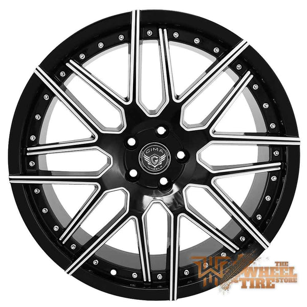 GIMA 11 'Helix' Wheel in Black Machined (Set of 4)