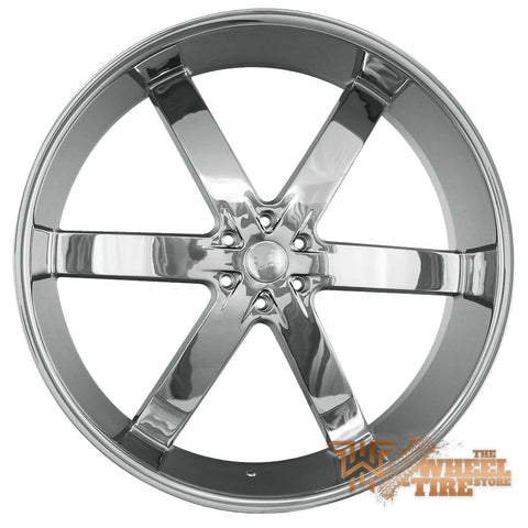 U2 U2-55 Wheel in Chrome (Set of 4)