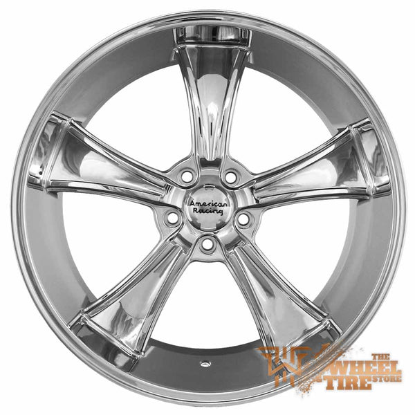 AMERICAN RACING VN805 'Blvd' Wheel in Chrome (Set of 4)