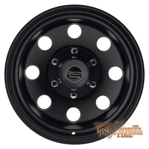 AMERICAN RACING AR172 'Baja' in Satin Black (Set of 4)