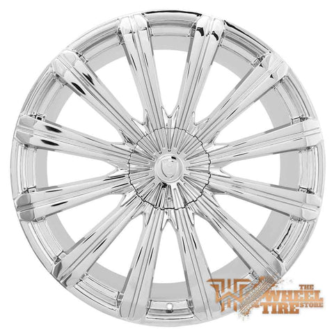 BORGHINI B18 Wheel in Chrome (Set of 4)